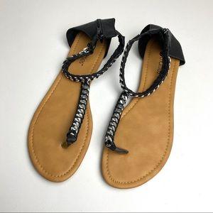 Chatties T Strap Sandals 11